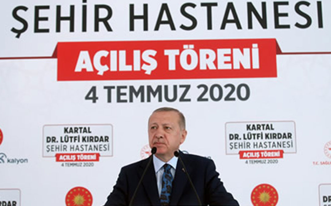 We are determined to make Turkey a healthcare hub of three continents